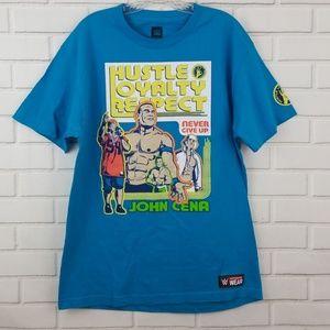 WWE John Cena Hustle Loyalty Respect Graphic Tee